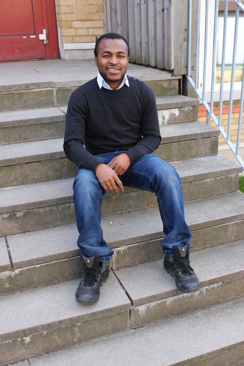 Akinyemi David Ademola from Nigeria will be spending the next academic year in the UK. He thinks the opportunity to gain experience from different countries is fantastic.