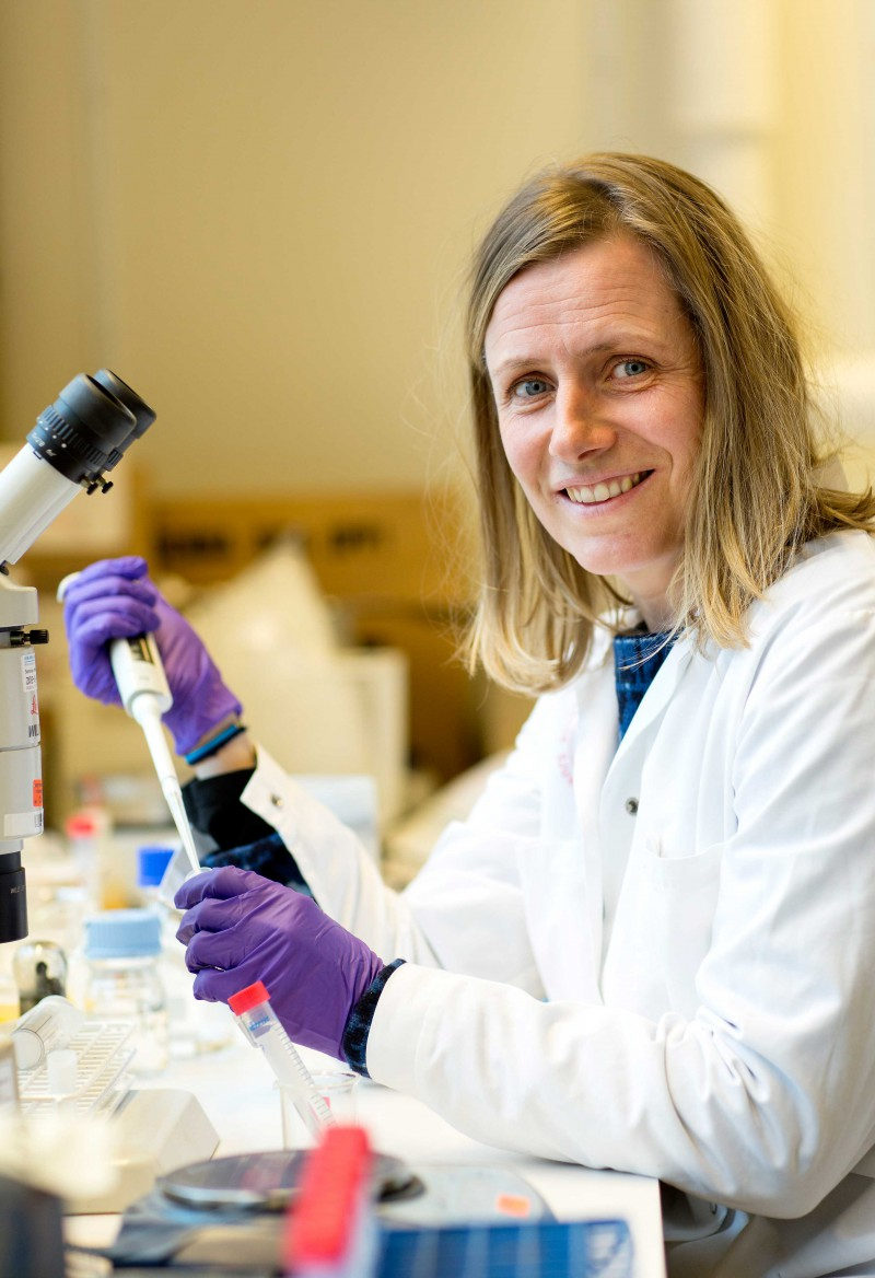 Postdoctoral research fellow Maria Granberg says that the BIOACID project is a great opportunity to network and initiate cooperation with international researchers.